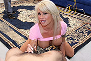 Brooke Haven Giving a Handjob
