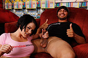 Cassidy Lynn Gives Lucky Winner a Hand Job